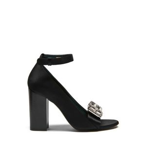 bow-sandal-black-satin