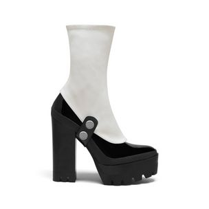 track-ankle-gaiter-pump-black-glossy-calf-white-stretch-nappa