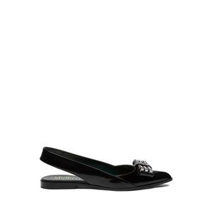 bow-slingback-flat-black-silver-toned-polished-calf
