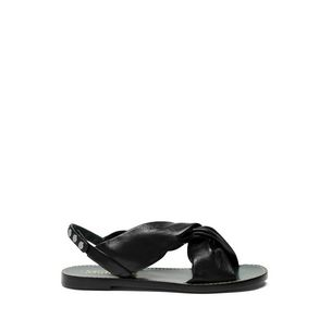 capri-drape-flat-sandal-black-lamb-nappa-leather