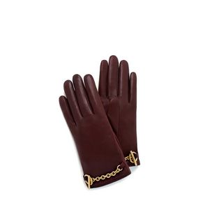bar-and-chain-glove-burgundy