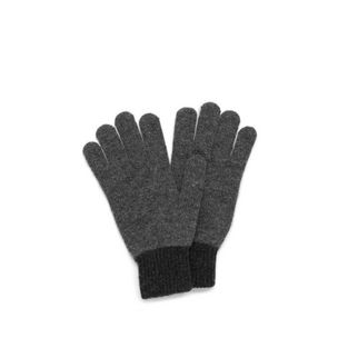 knitted-gloves-grey-lambswool