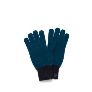 knitted-gloves-petrol-blue-lambswool