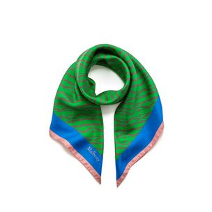 monogram-square-scarf-grass-green-silk-twill