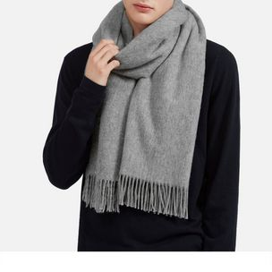 lambswool-scarf-light-grey-melange-lambswool