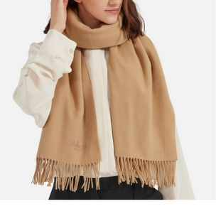 lambswool-scarf-camel-lambswool