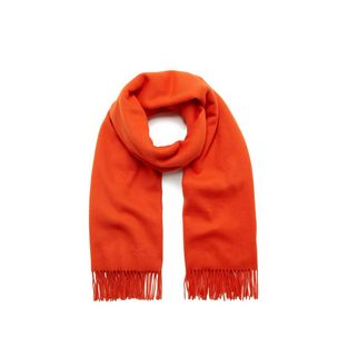 lambswool-scarf-bright-orange-lambswool