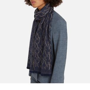 monogram-jacquard-scarf-blue-grey-wool