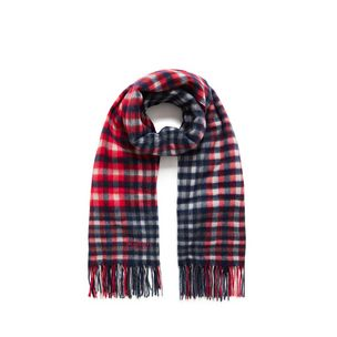 large-check-lambswool-scarf-red-lambswool