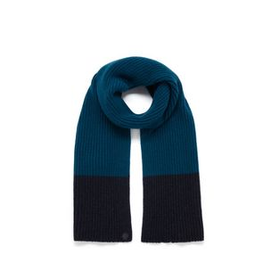 knitted-scarf-petrol-blue-lambswool