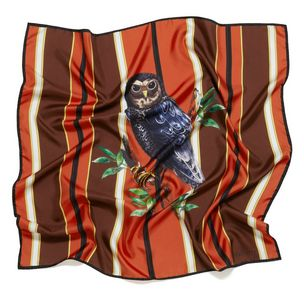 owl-stripe-square-orange-silk-twill