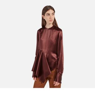 vicky-blouse-chestnut-duchess-satin-crepe