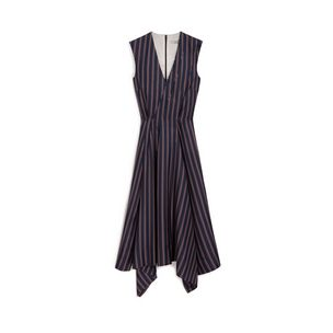 samantha-dresses-midnight-chalk-oxblood-college-stripe-silk-twill