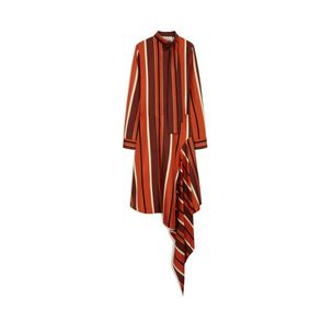victoria-dress-orange-striped-twill
