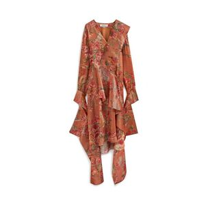 scarlett-dress-rust-floral-shiny-silk