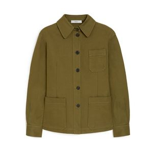 agather-jacket-khaki-cotton-gabardine