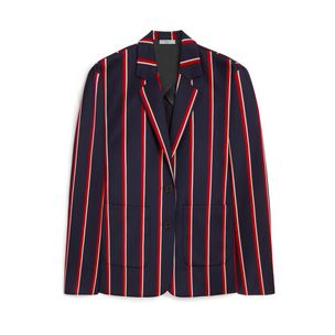 cleo-blazer-midnight-chalk-coral-red-wool-stripes