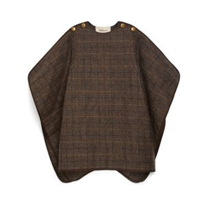 brittany-cape-dark-brown-flecked-wool-check