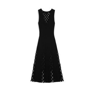 agnes-fluted-dress-black-felted-fishnet