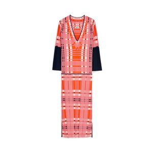 verity-dress-pink-knit-check
