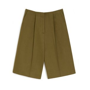 edie-shorts-khaki-cotton-gabardine