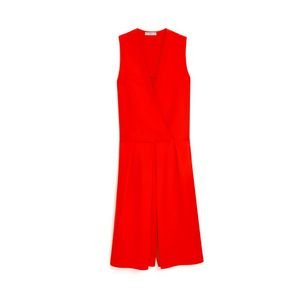 posie-jumpsuit-coral-red-viscose