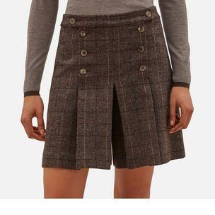 tiffany-short-dark-brown-flecked-wool-check