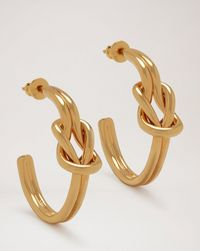 knot-hoop-earrings