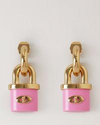 자물쇠-레진-귀걸이
