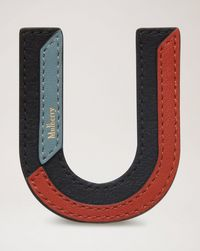 tri-colour-leather-sticker---u