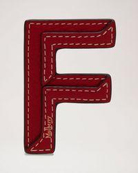 アルファベット-レザーステッカー---f