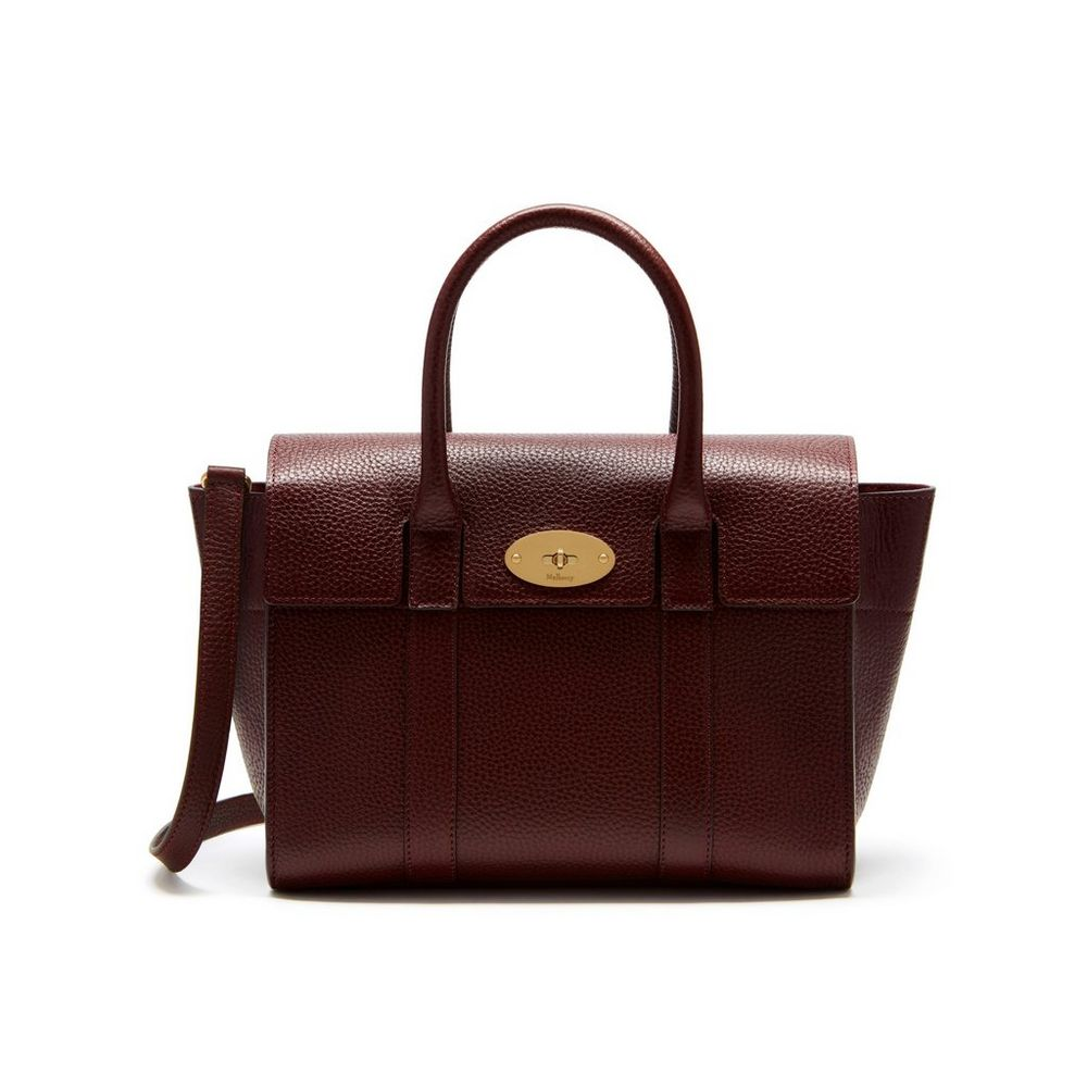 Small bayswater oxblood natural grain leather women for The bayswater