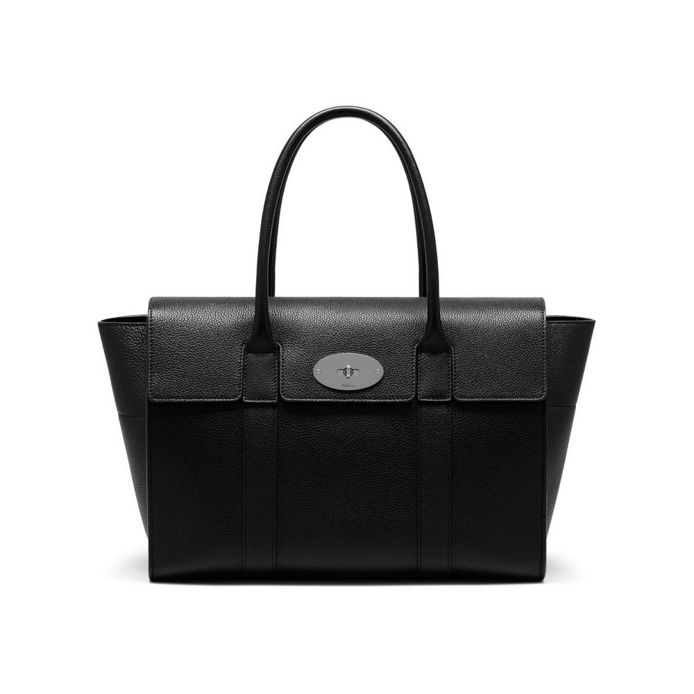 New bayswater black silver toned small classic grain for The bayswater