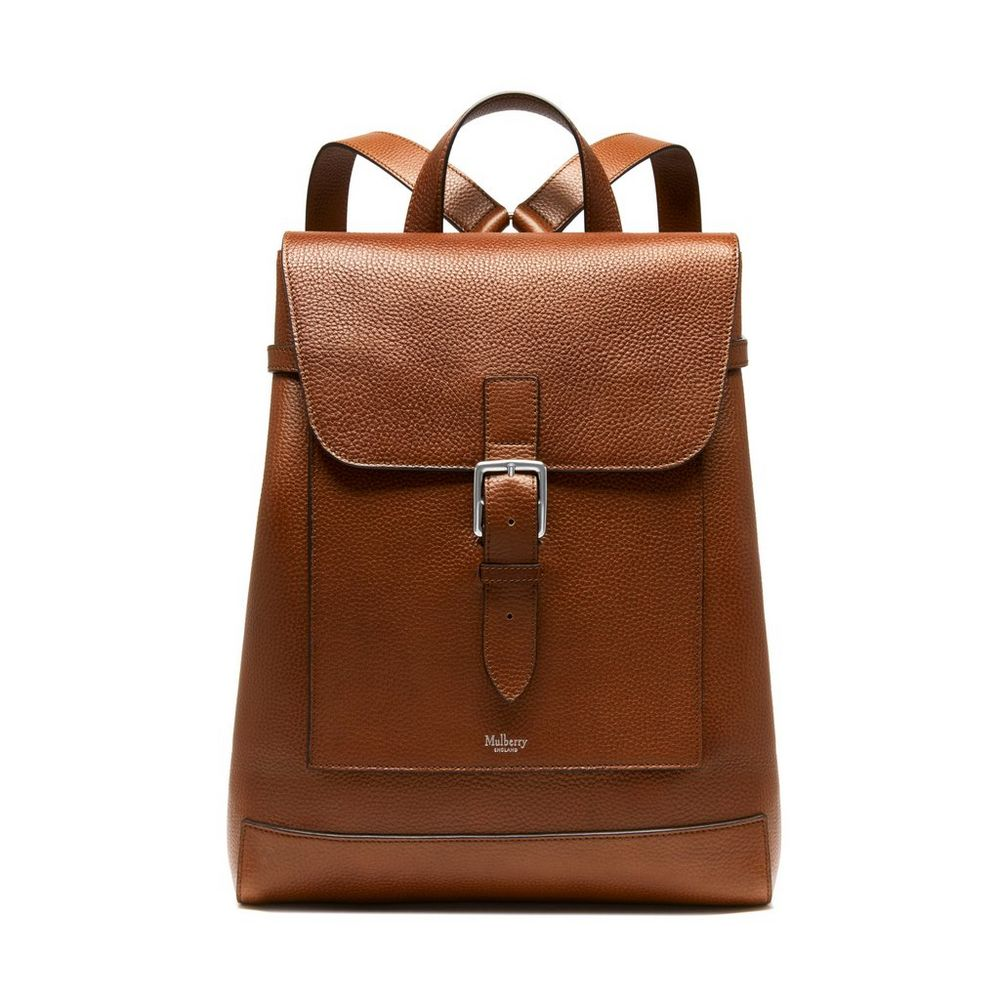 Chiltern Backpack | Oak Natural Grain Leather | Chiltern | Mulberry