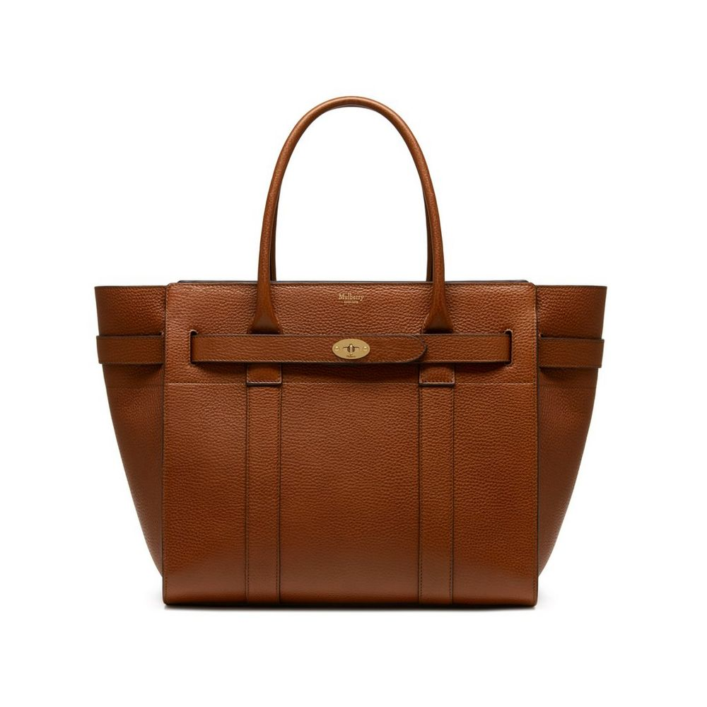 Zipped bayswater oak natural grain leather women for The bayswater