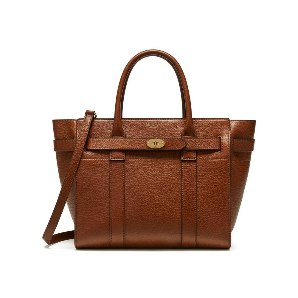 a0cdff6727 Small Zipped Bayswater Oak Natural Grain Leather