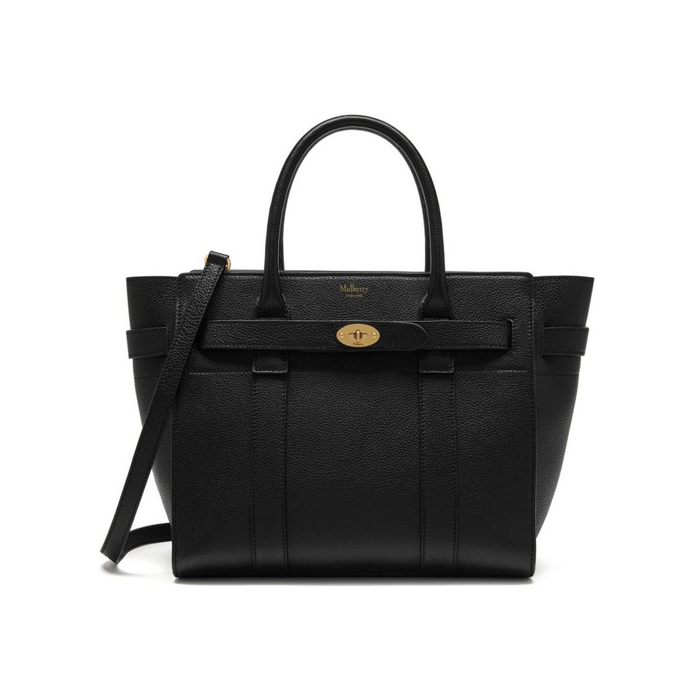 2067f85c9608 Small Zipped Bayswater Black Small Classic Grain