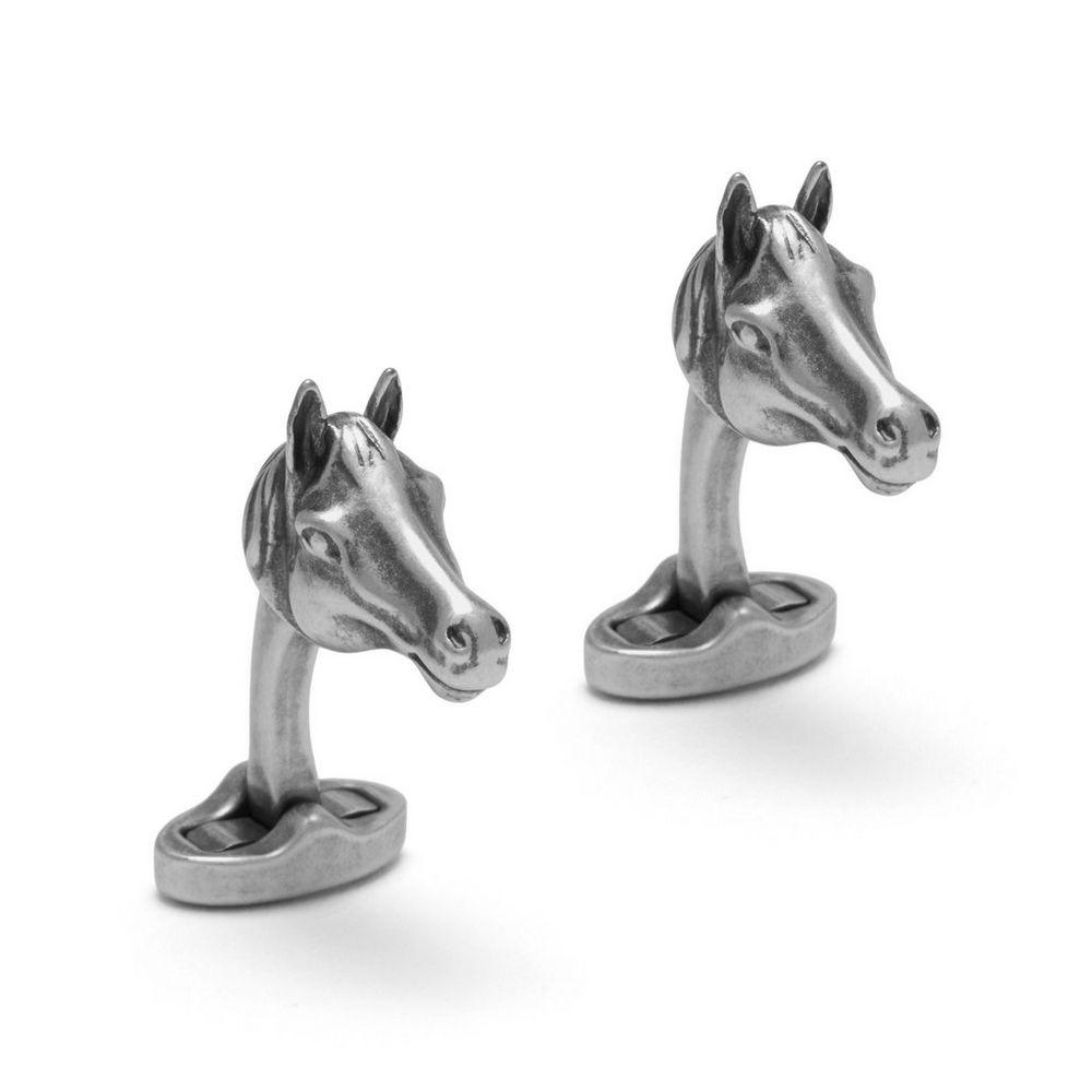 horse-cufflinks