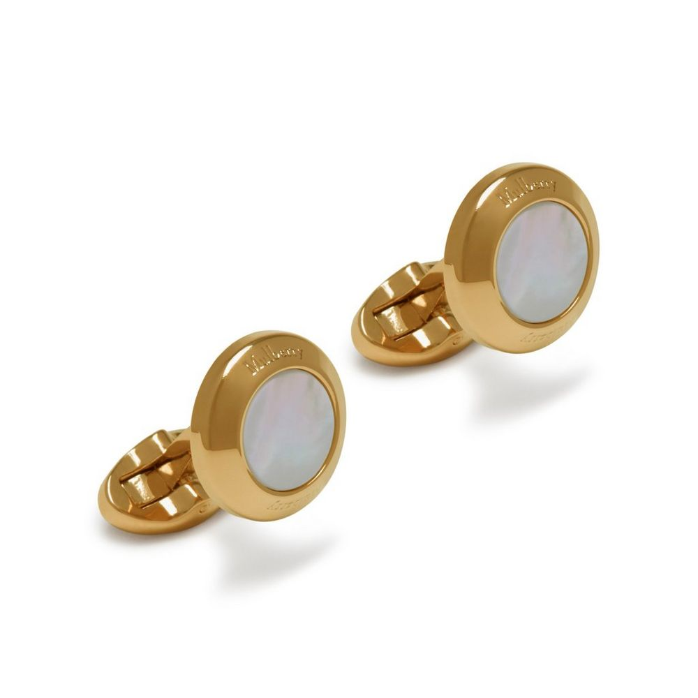 round-mother-of-pearl-cufflinks