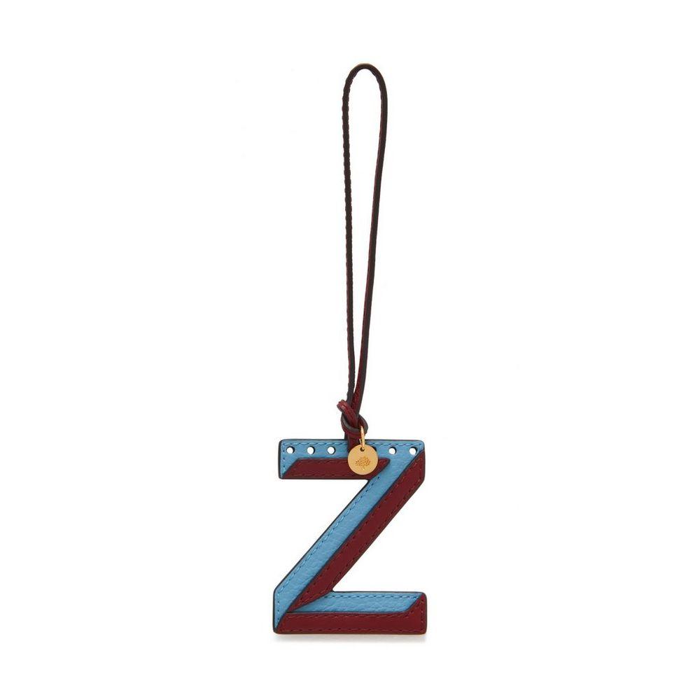bi-colour-leather-keyring---z