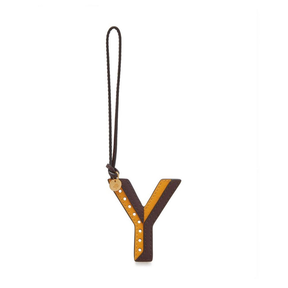 bi-colour-leather-keyring---y