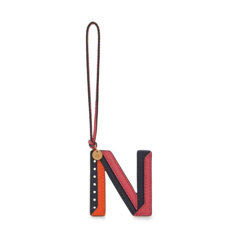 tri-colour-leather-keyring---n