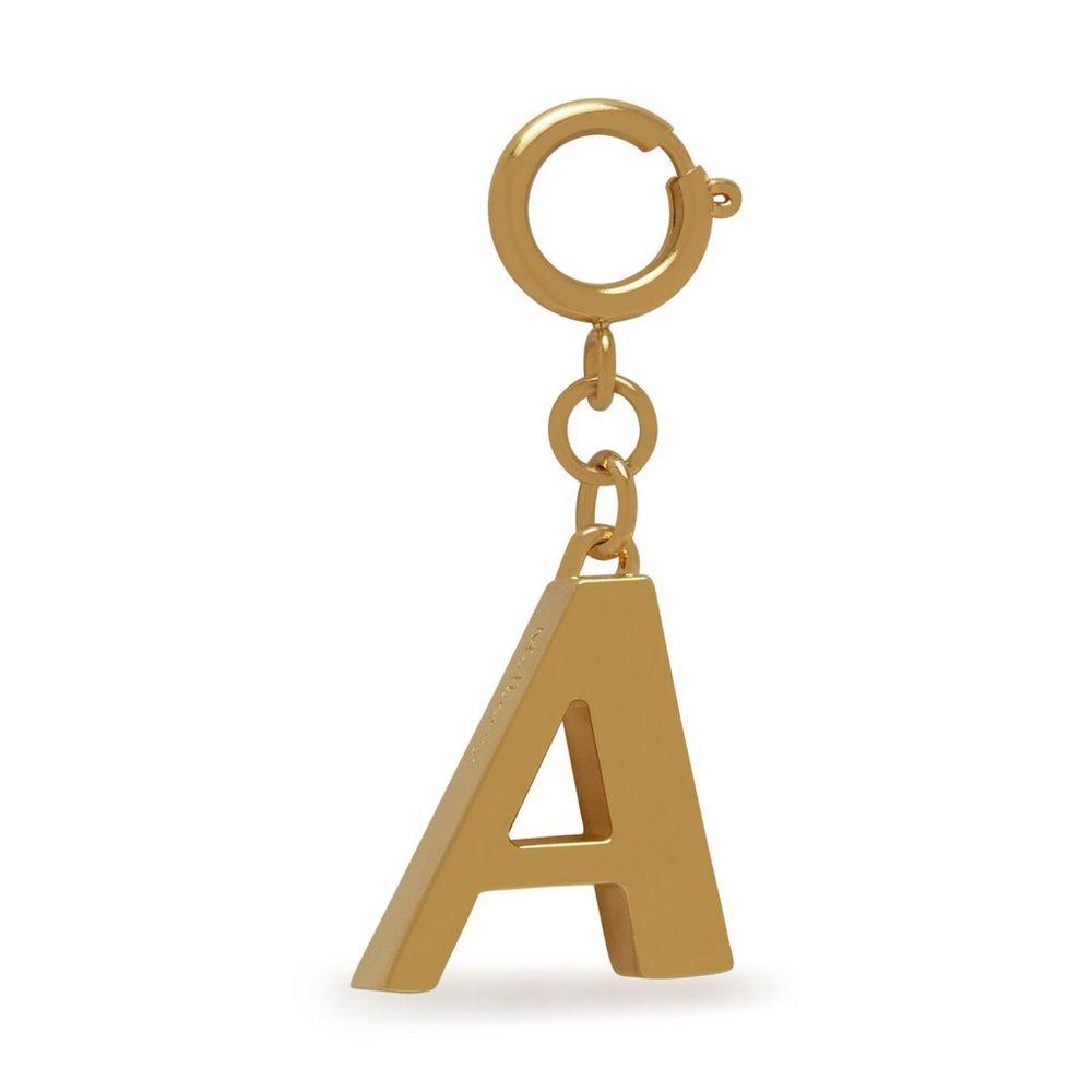 alphabet-brass-keyring---a