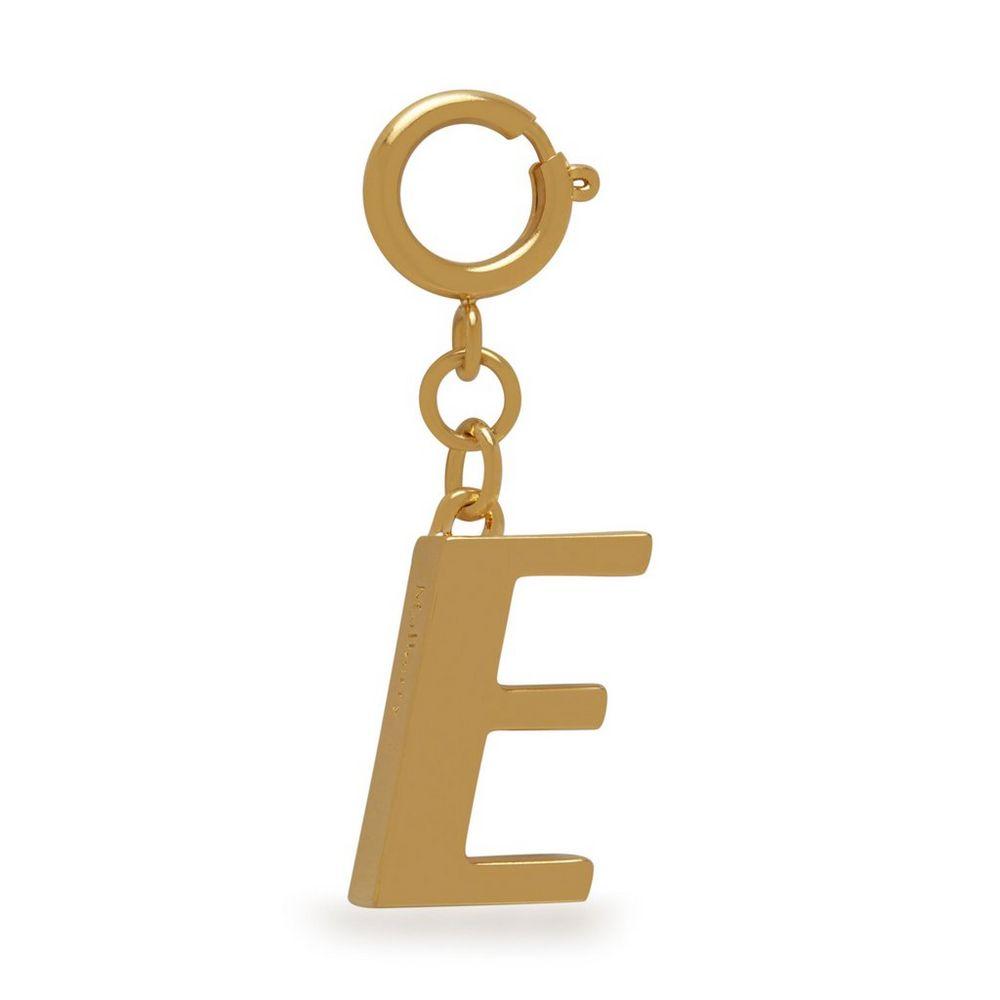 alphabet-brass-keyring---e