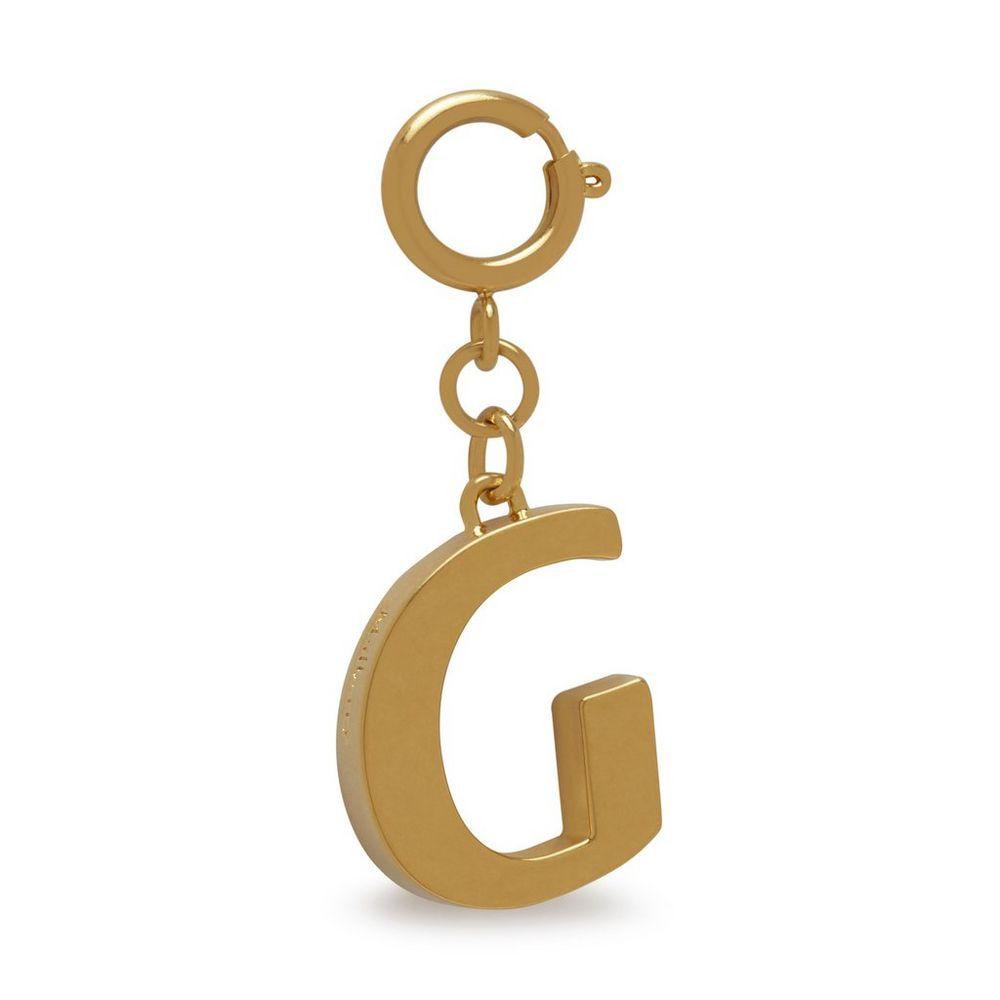 alphabet-brass-keyring---g