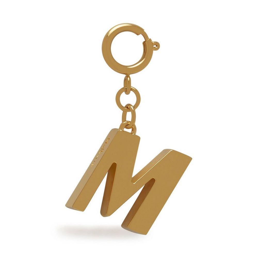 alphabet-brass-keyring---m