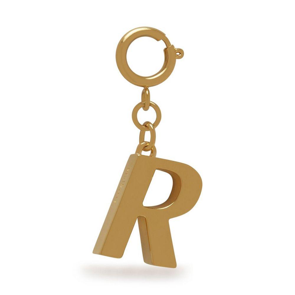 alphabet-brass-keyring---r