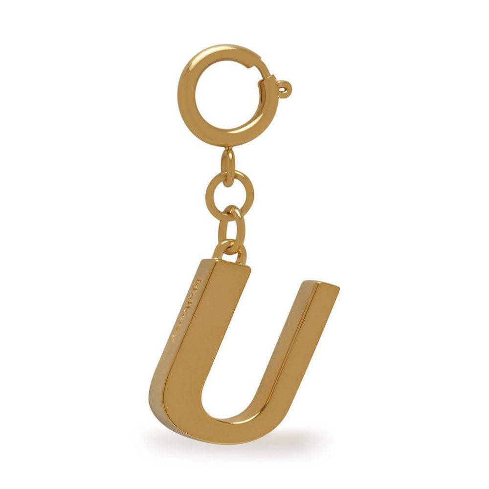 alphabet-brass-keyring---u