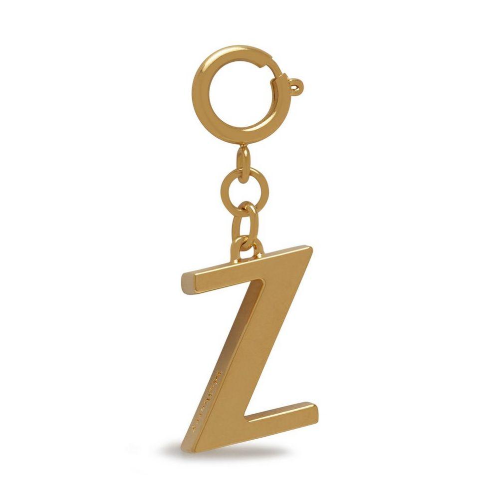 alphabet-brass-keyring---z