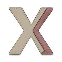 bi-colour-leather-sticker---x